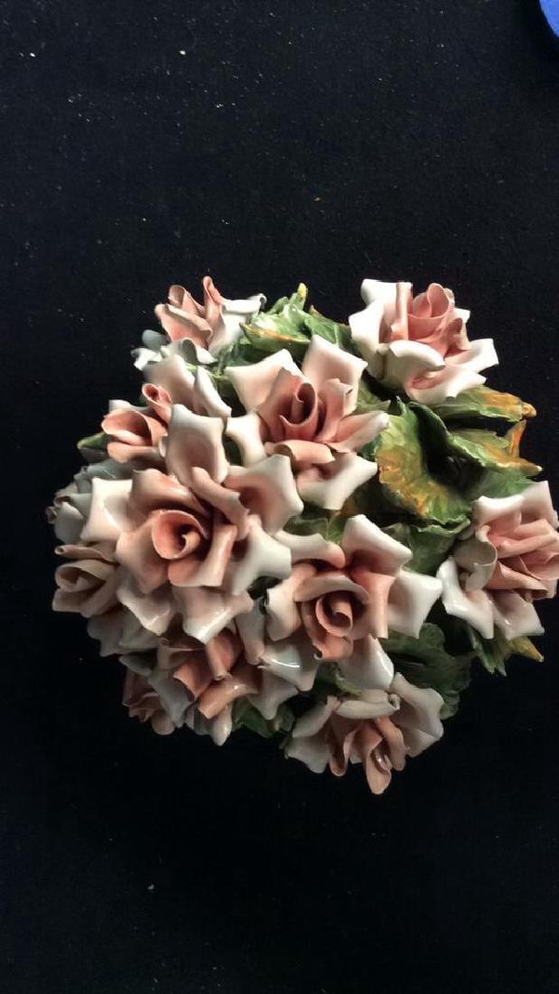 Centerpiece Capodimonte Floral Arrangement - 7