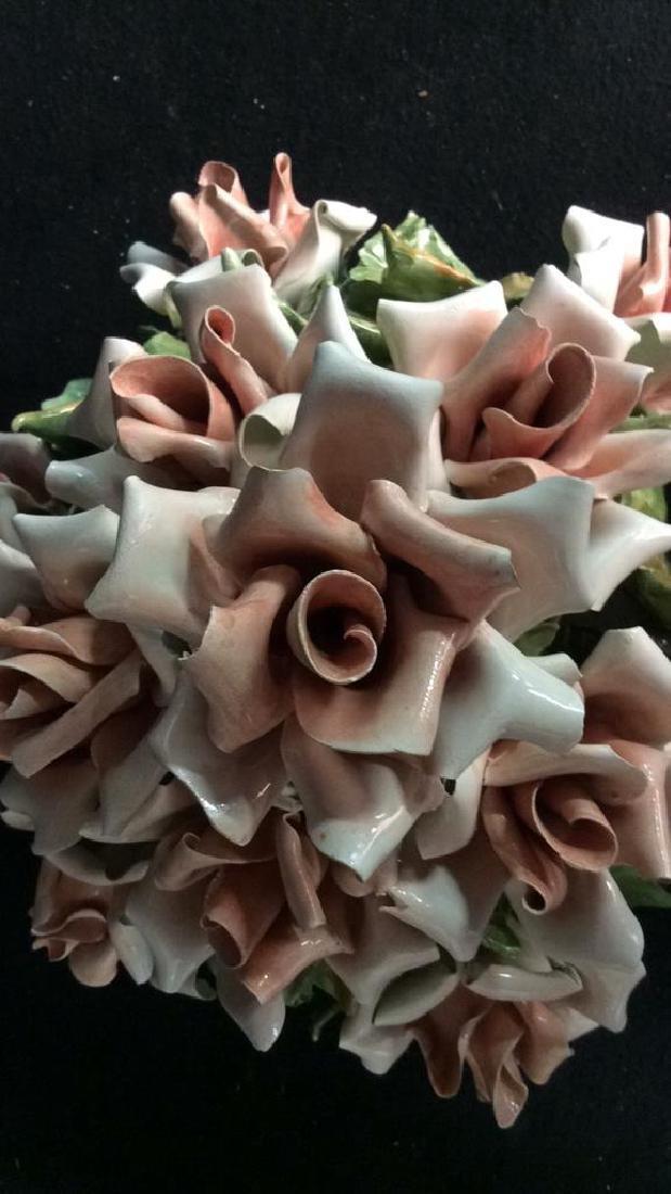 Centerpiece Capodimonte Floral Arrangement - 8