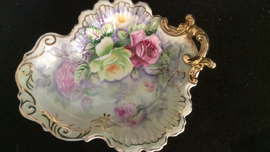 Group Antique Signed Marked Porcelain Plates - 2