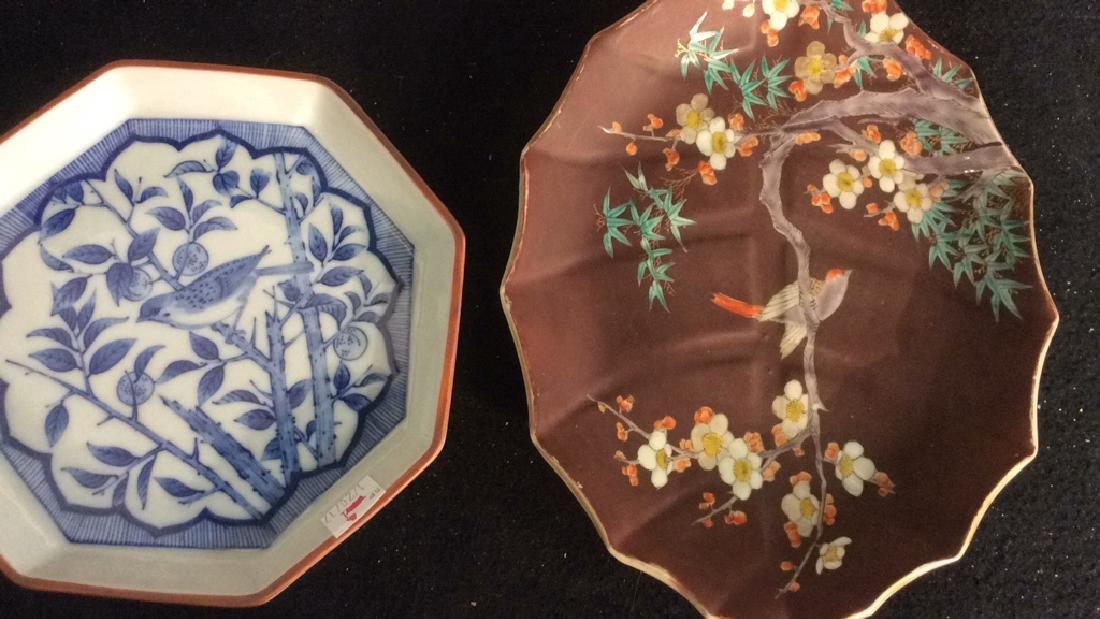 Group Antique Signed Marked Porcelain Plates - 4