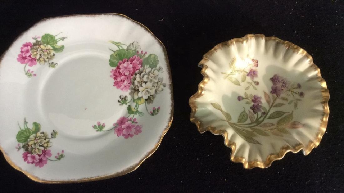 Group Antique Signed Marked Porcelain Plates - 5