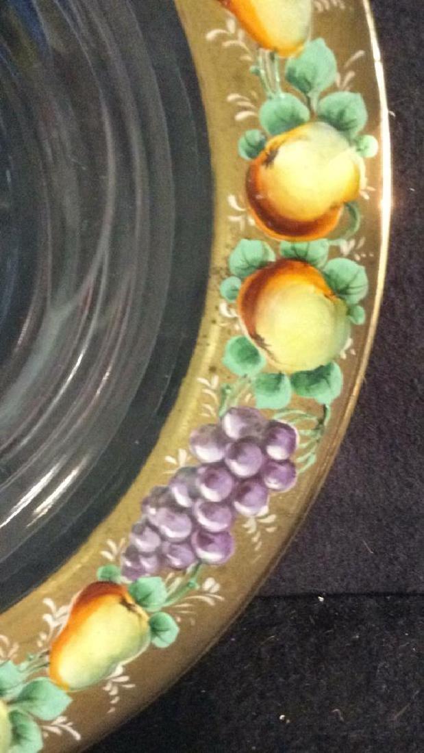 Group Antique Signed Marked Porcelain Plates - 9