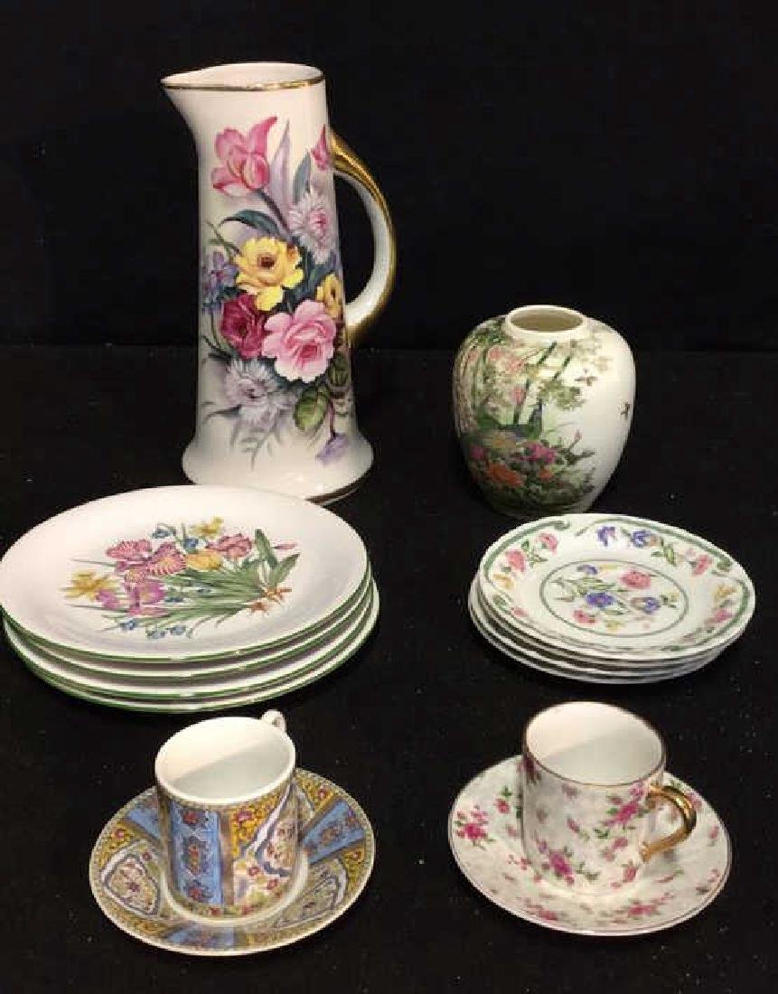 Asian China Ceramic & Stoneware Assortment