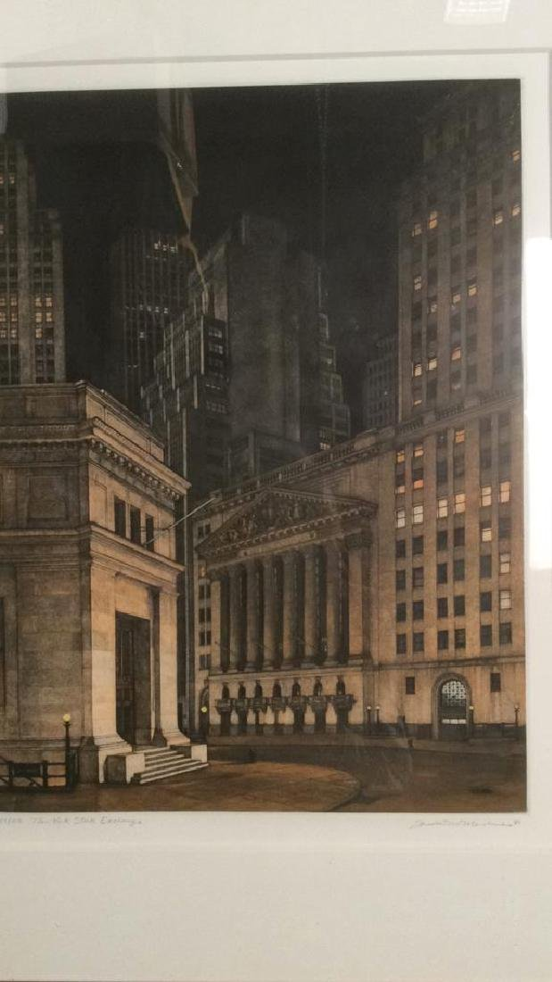 Frederick MERSHIMER NY Stock Exchange Etching - 3