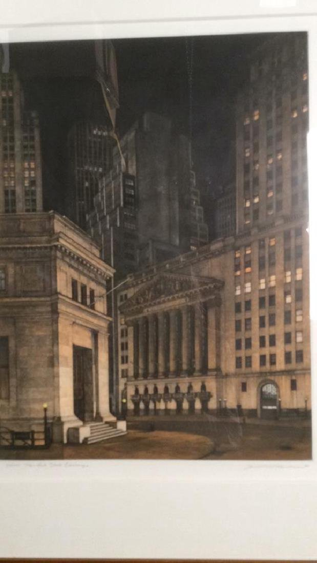 Frederick MERSHIMER NY Stock Exchange Etching - 4