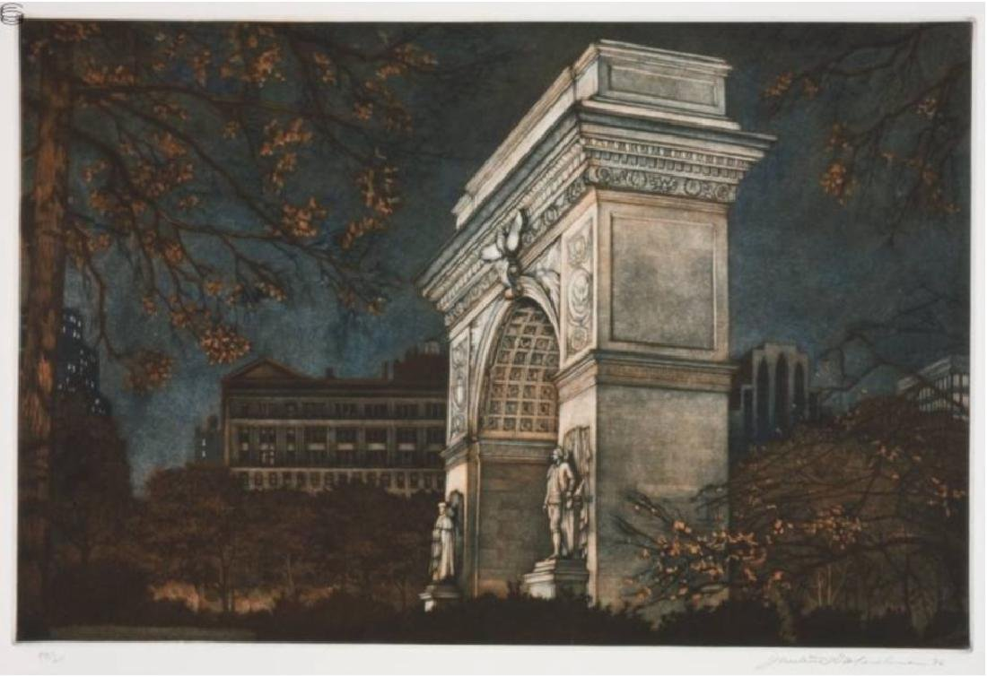 Frederick MERSHIMER Washington Square Arch
