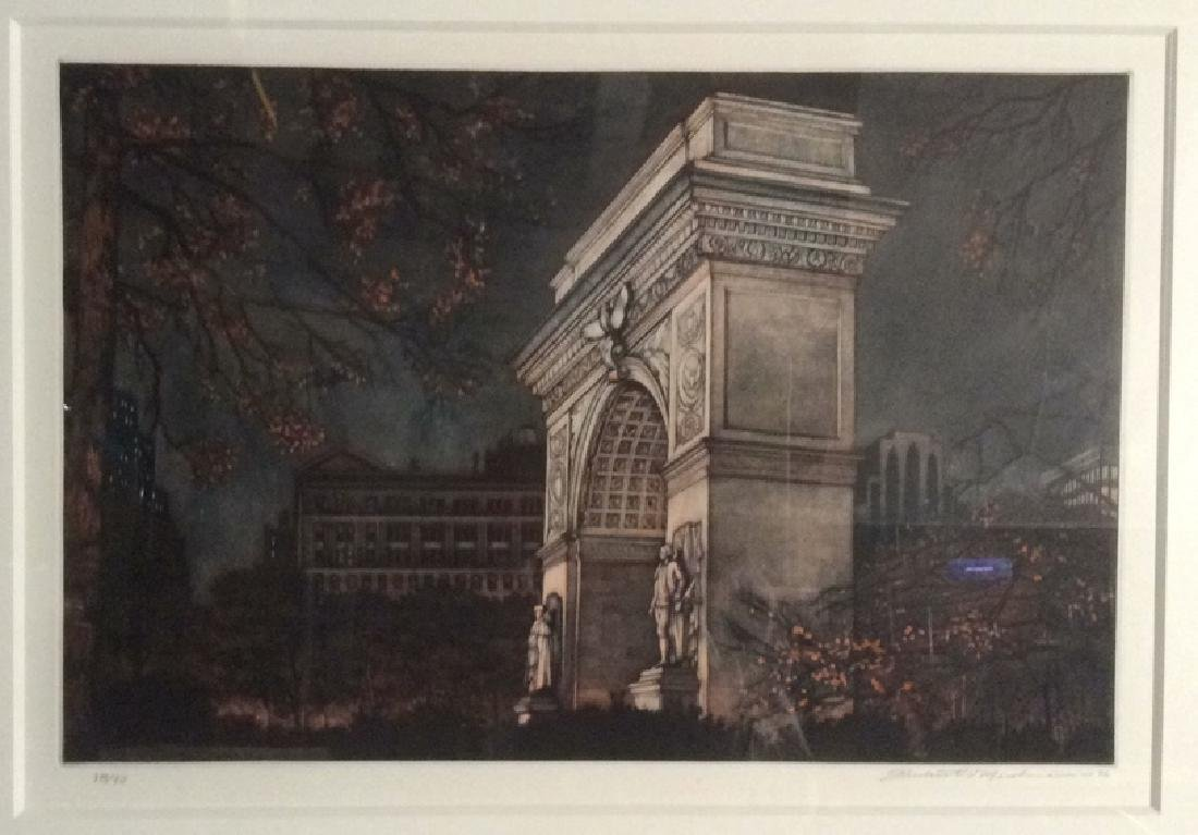 Frederick MERSHIMER Washington Square Arch - 2