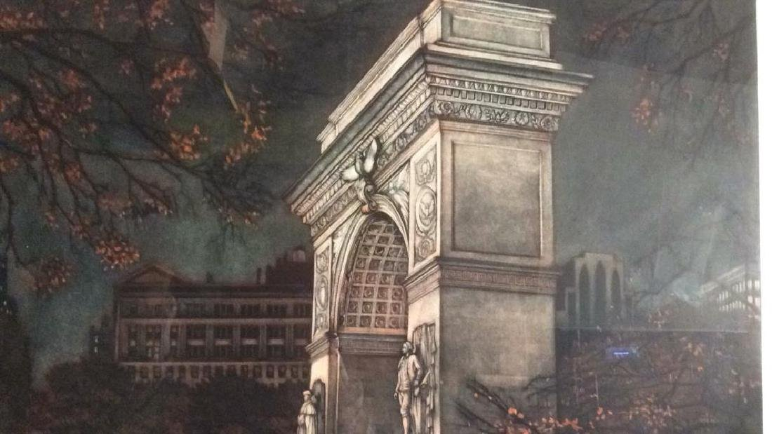 Frederick MERSHIMER Washington Square Arch - 5