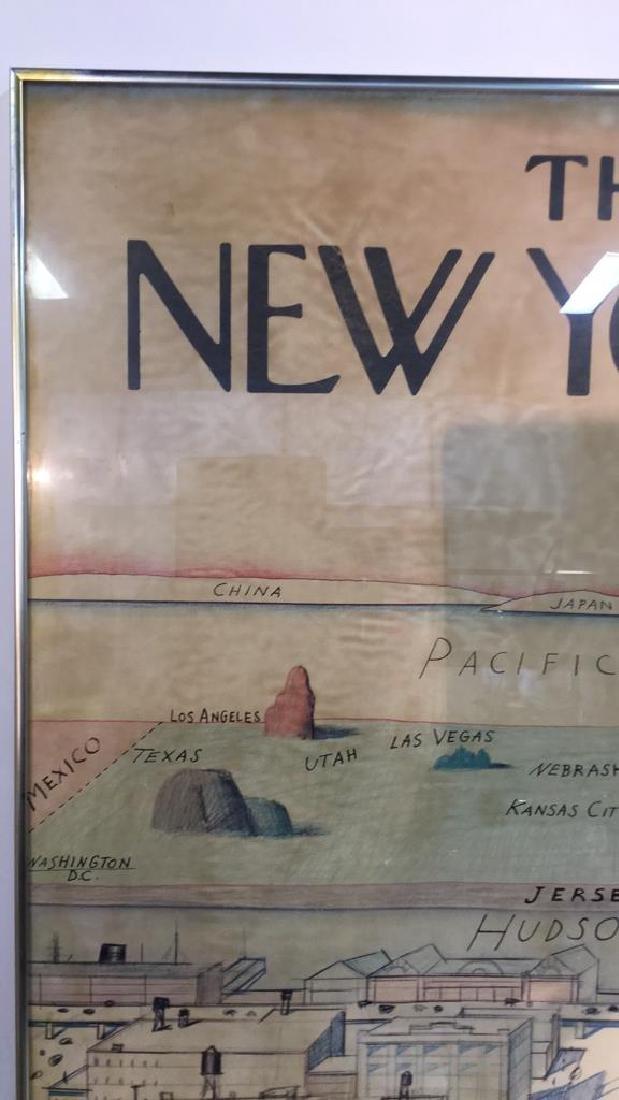 Saul Steinberg New Yorker Framed Poster - 4