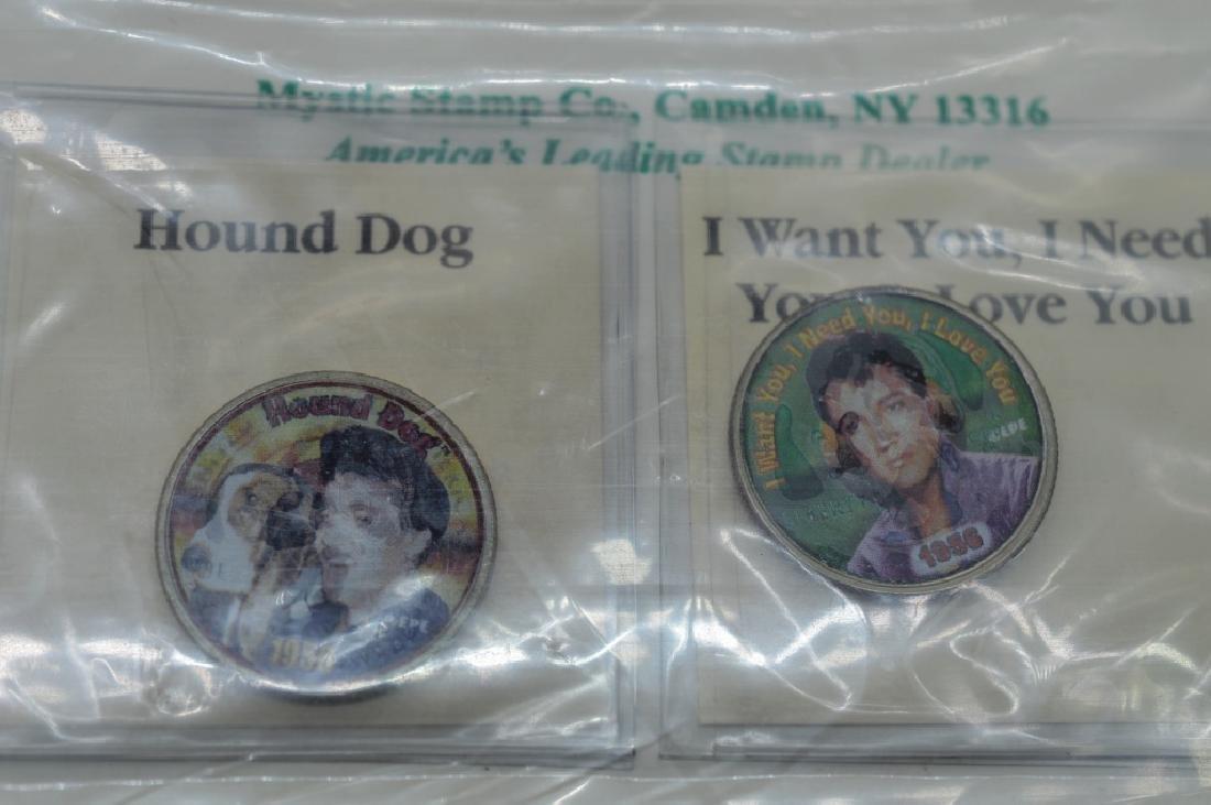 Elvis 25t Anniversary Colorized Quarter Collection