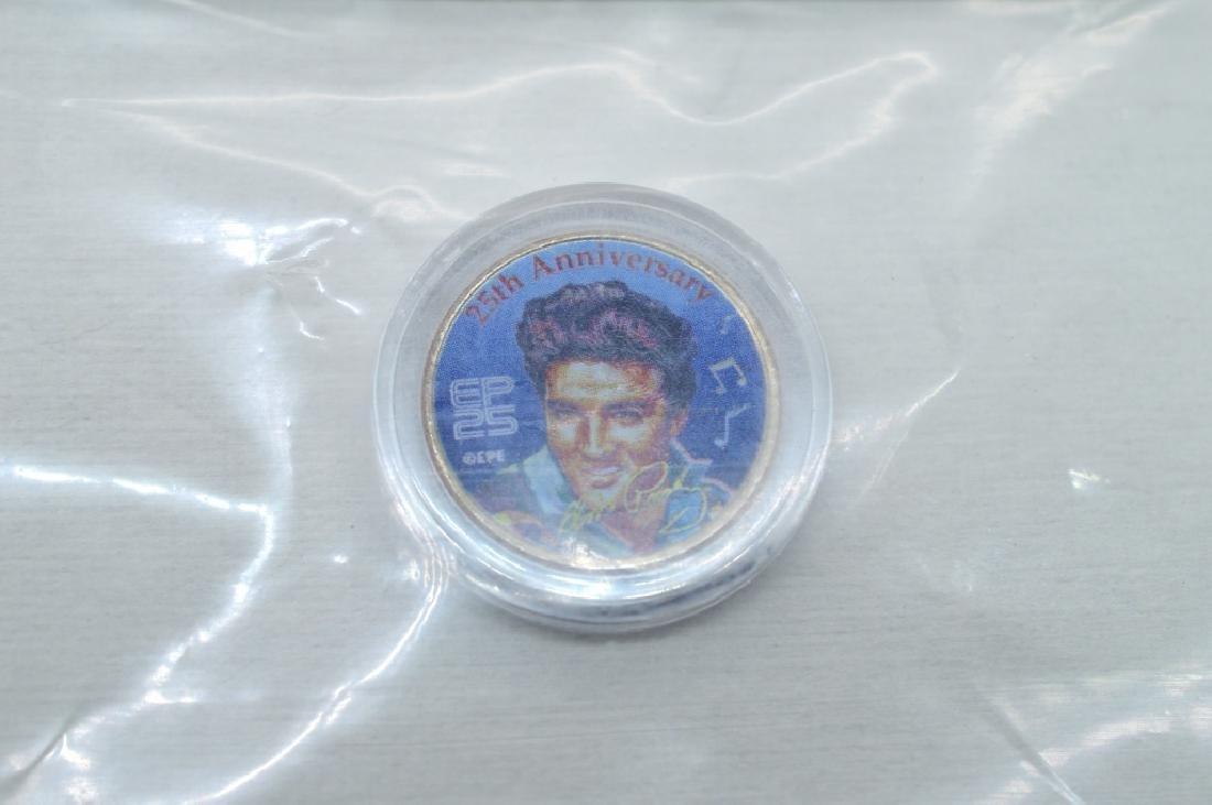 Elvis 25t Anniversary Colorized Quarter Collection - 2