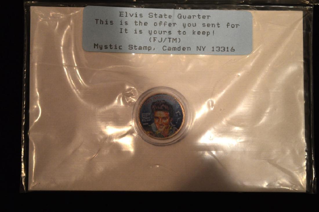 Elvis 25t Anniversary Colorized Quarter Collection - 3