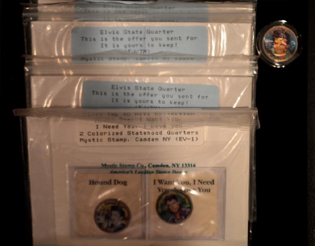 Elvis 25t Anniversary Colorized Quarter Collection - 4