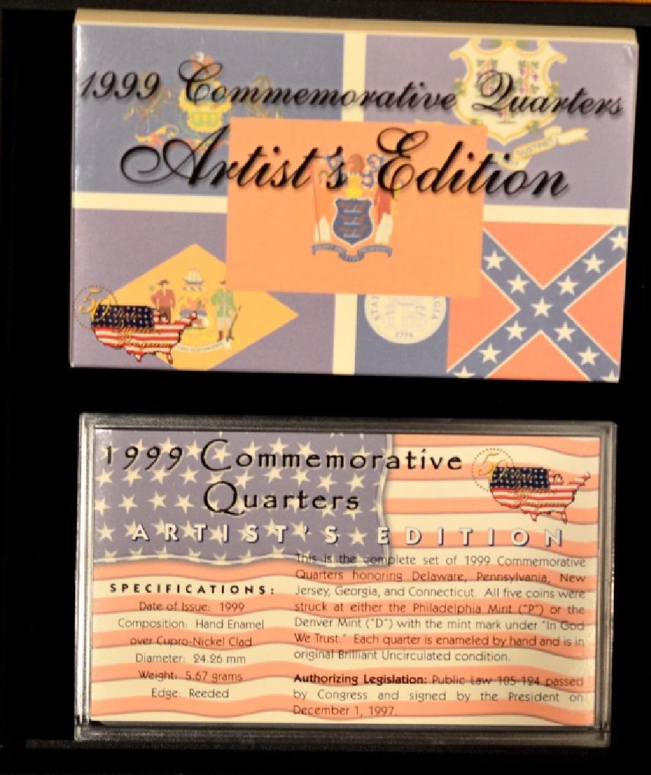 1999 Commemorative Quarter Artists Edition Lot 2 - 2