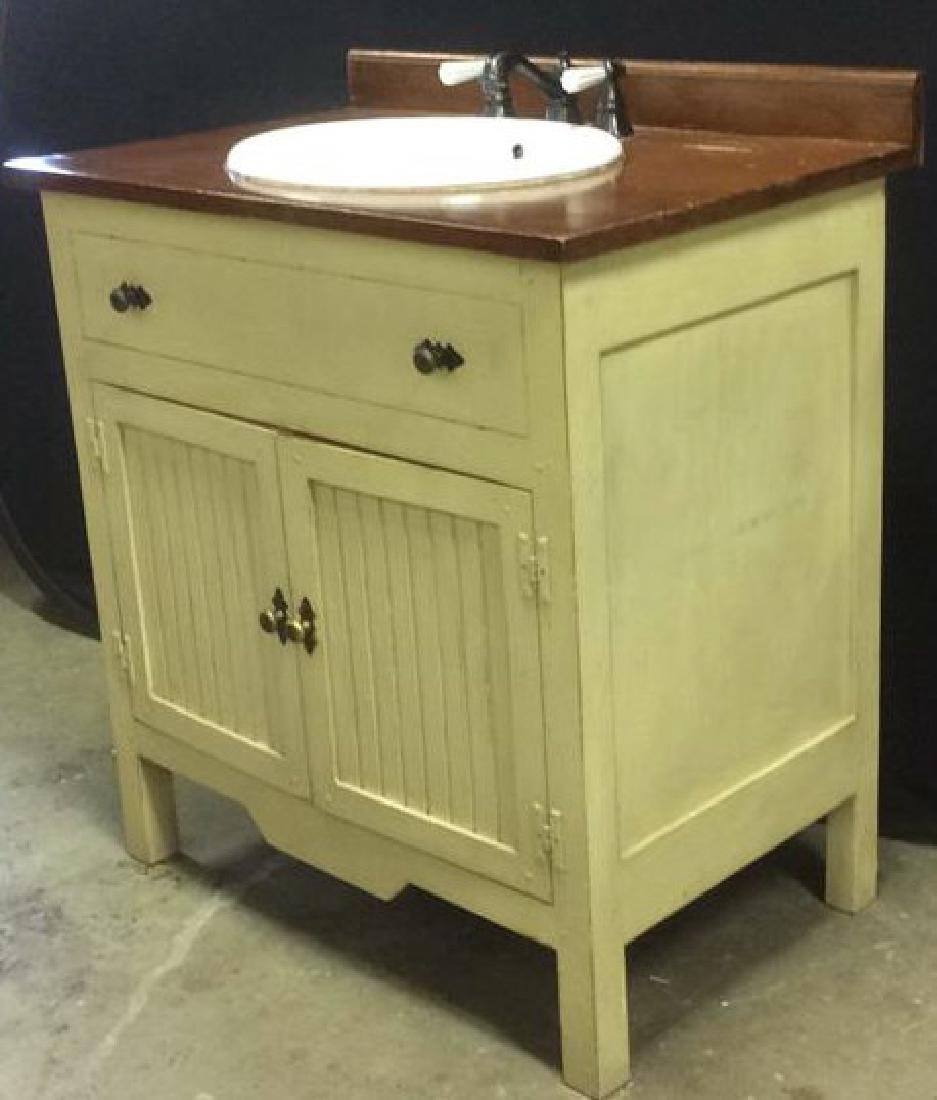 COUNTRY WILLOW Bathroom Vanity Upcycled
