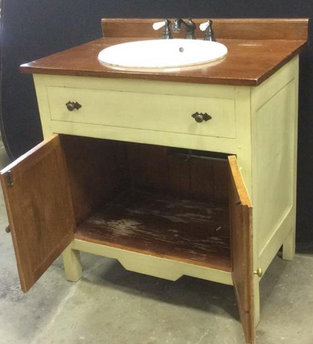 COUNTRY WILLOW Bathroom Vanity Upcycled - 2