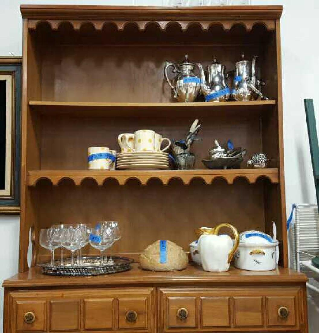 Maple Hutch Display and Storage Maple Hutch Display and - 3