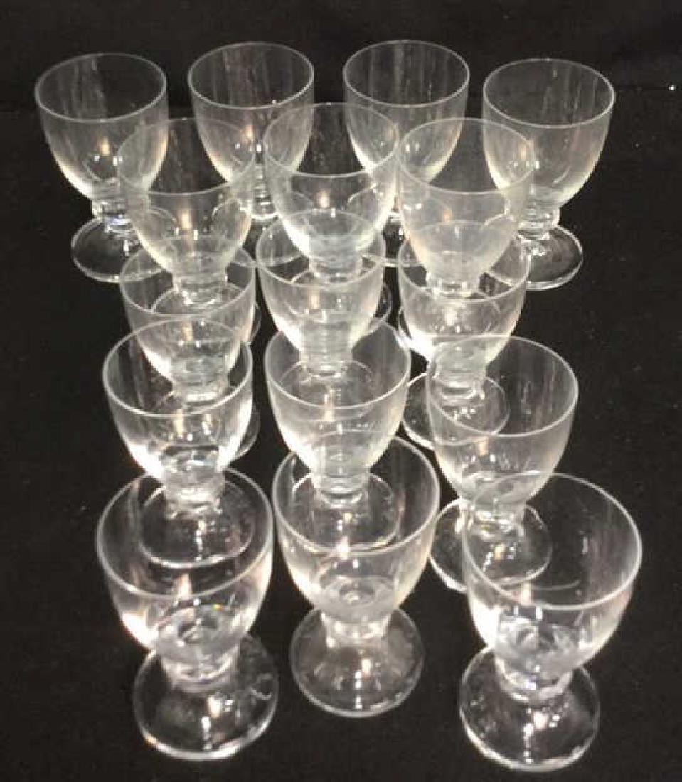16 Vintage Daum Crystal From Paris Glassware 7 Daum