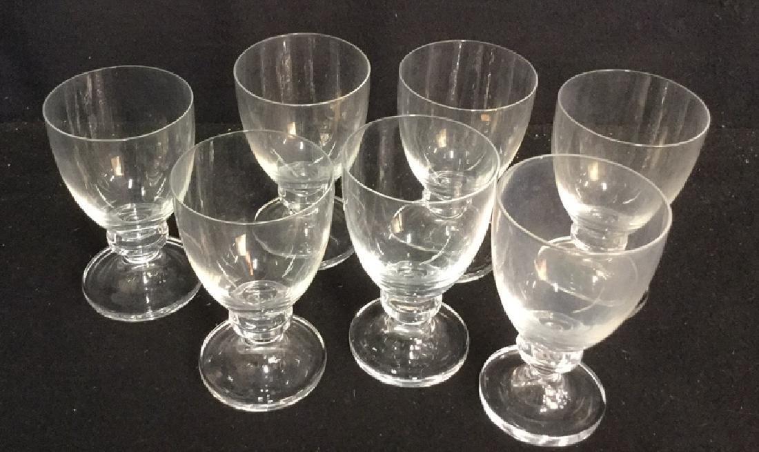 16 Vintage Daum Crystal From Paris Glassware 7 Daum - 2