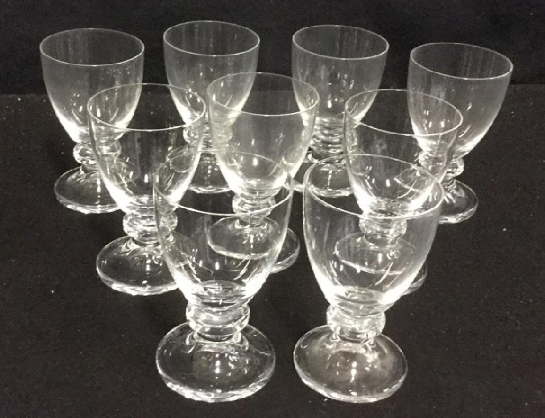 16 Vintage Daum Crystal From Paris Glassware 7 Daum - 5