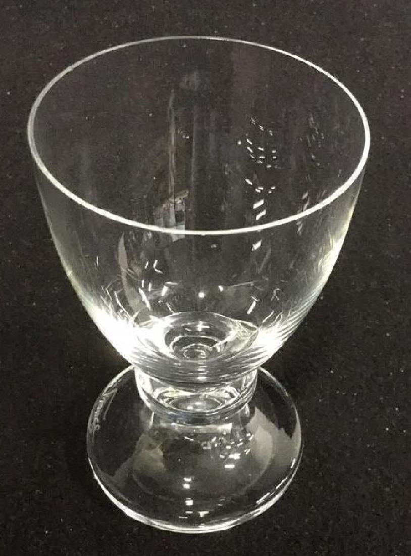 16 Vintage Daum Crystal From Paris Glassware 7 Daum - 6