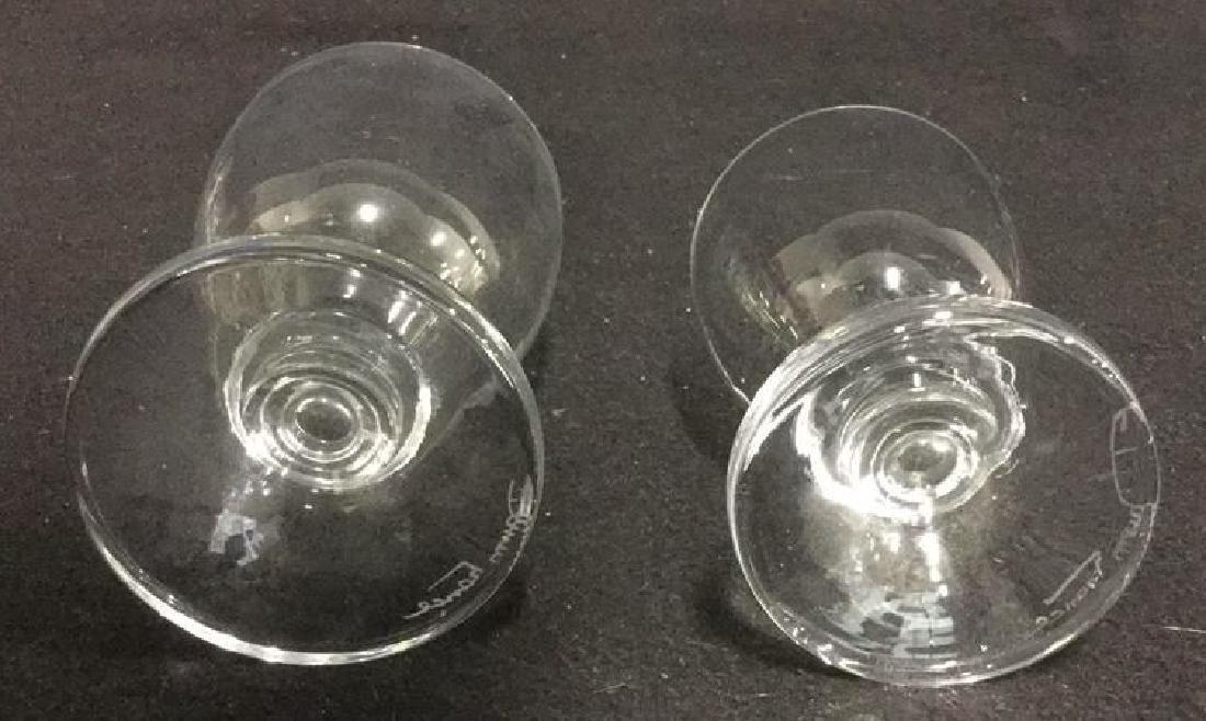 16 Vintage Daum Crystal From Paris Glassware 7 Daum - 8