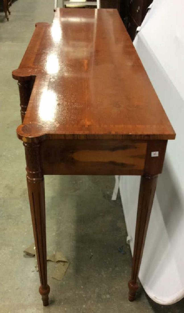 Antique Inlaid Dining Side Board Antique Side Board, - 10