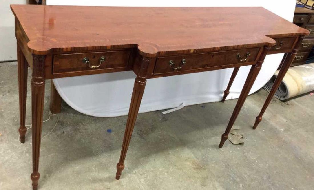 Antique Inlaid Dining Side Board Antique Side Board,
