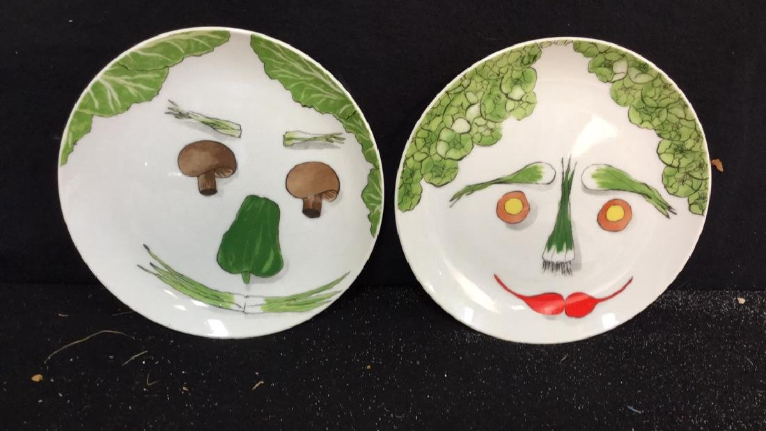 Group Lot  Assorted Ceramic Tabletop Items Fruit and - 4