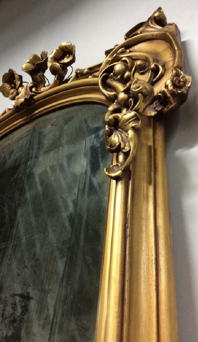 Art Nouveau Palatial Sized Mirror Hand carved Gold - 10