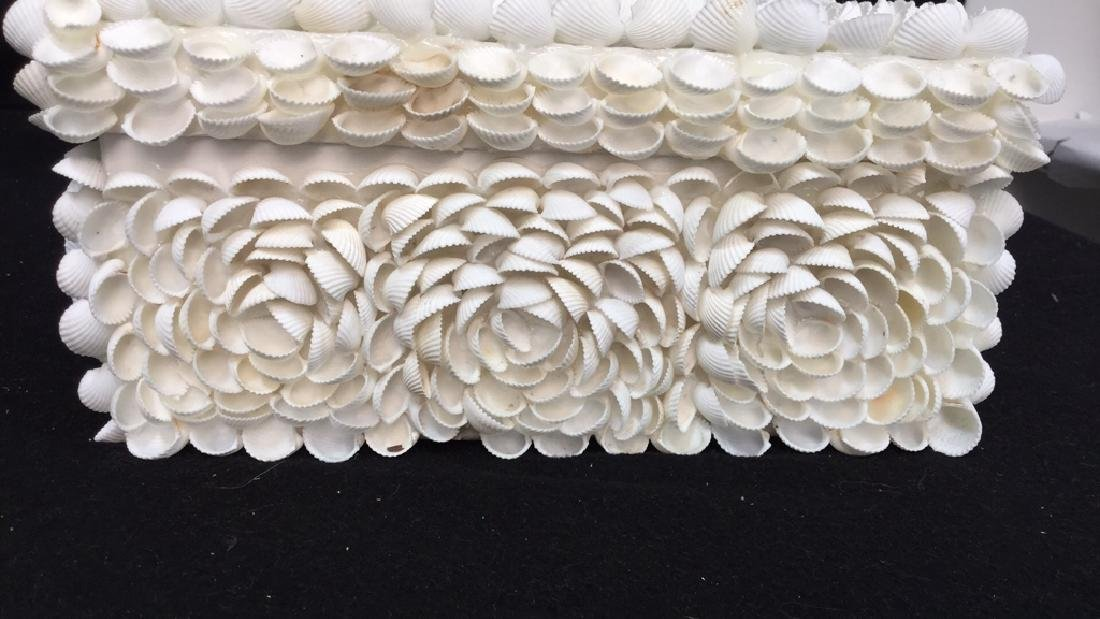 Pair Of Decorative Seashell Boxes 2 decorative boxes - 3
