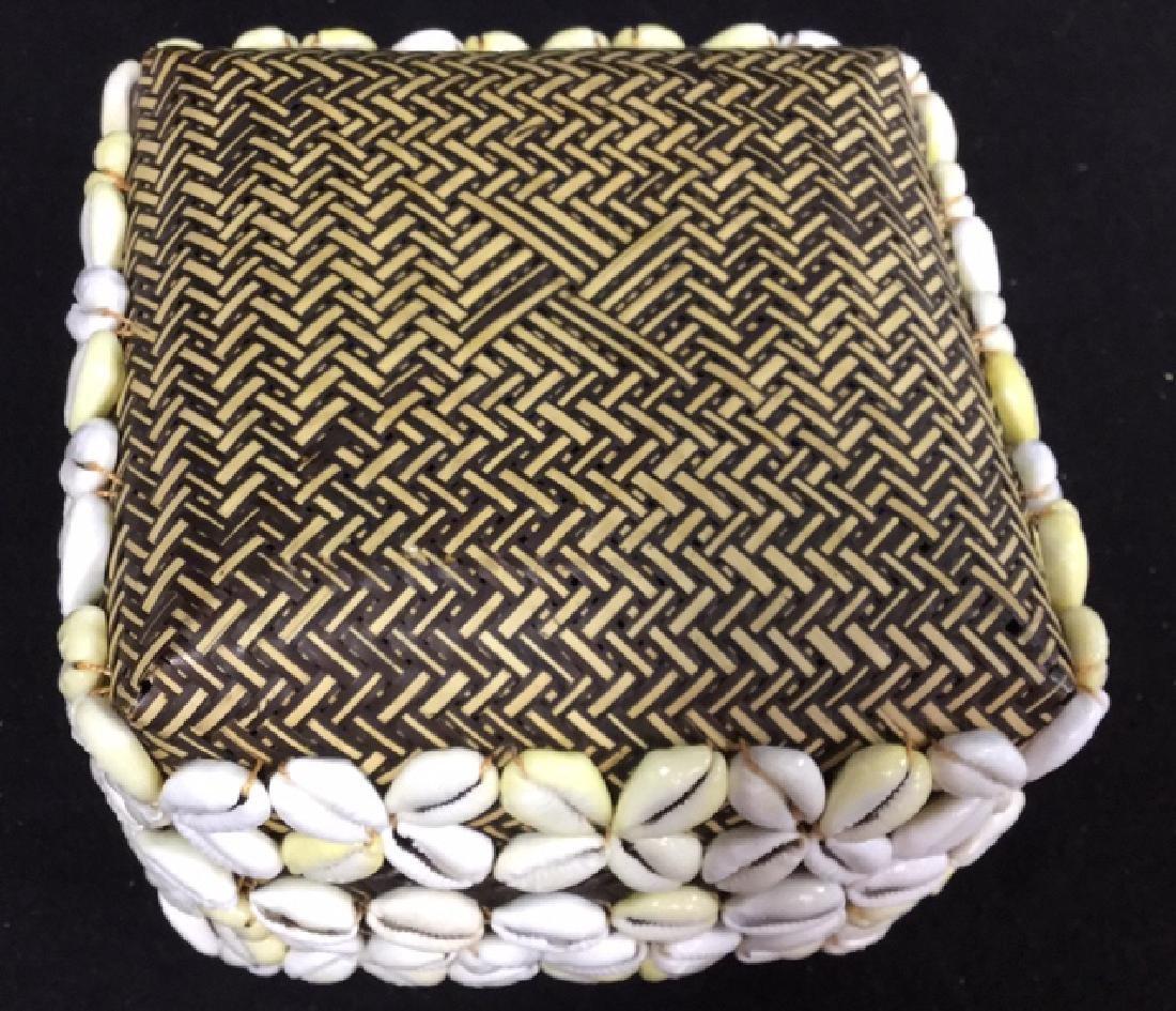 Pair Of Decorative Seashell Boxes 2 decorative boxes - 9