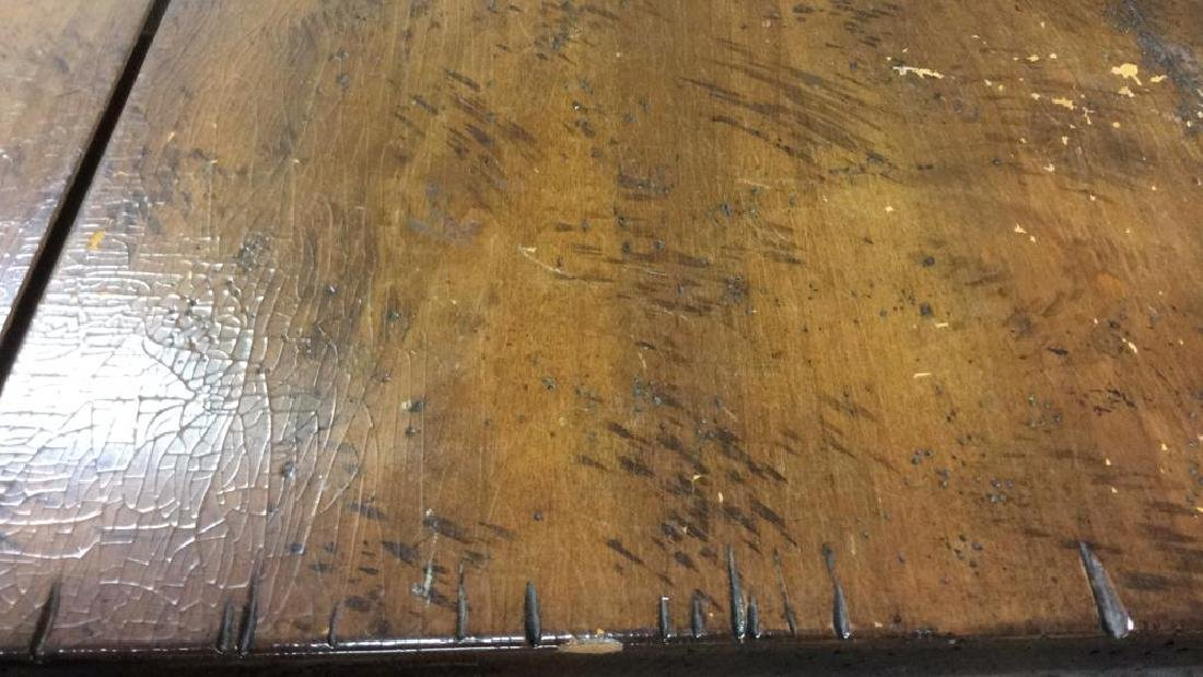 Henredon Country Style Walnut Dining Table Labeled for - 8