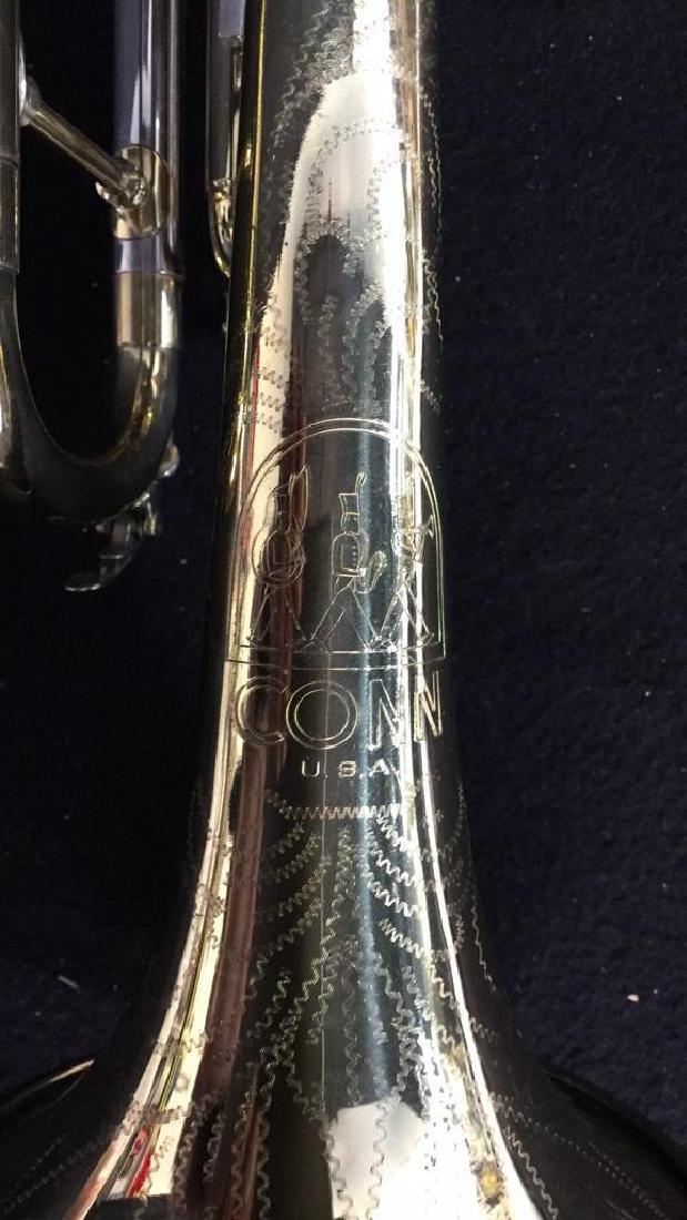 Brass Conn Trumpet With Case Brass trumpet from Conn - 6