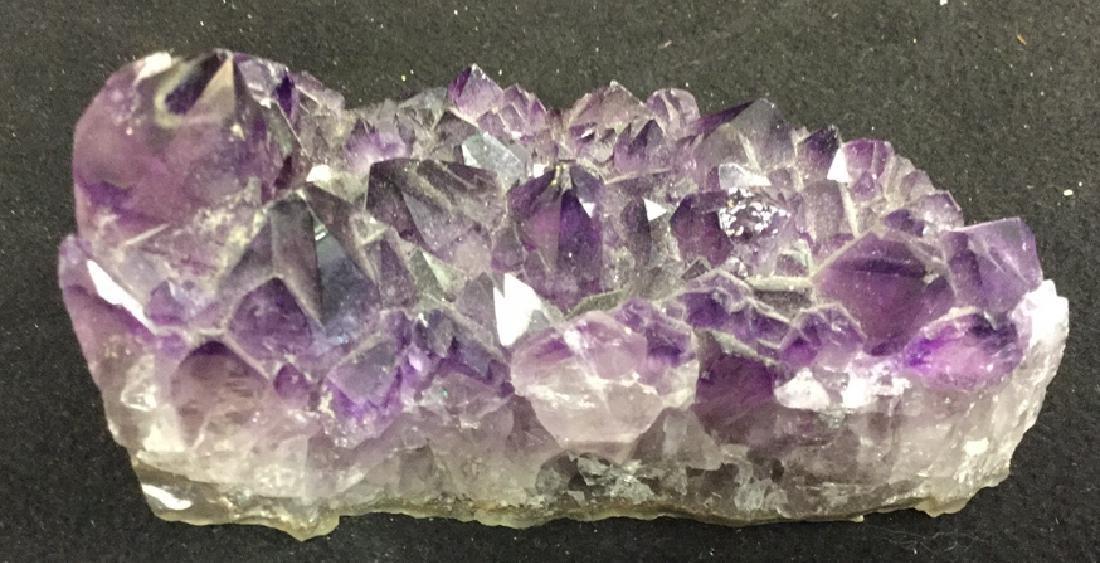 Amethyst Crystal Geode Cluster One piece of genuine - 2