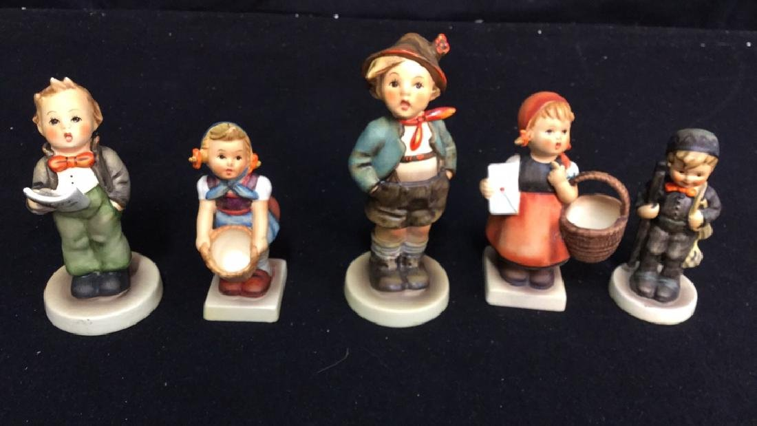 5 Goebel Hummel Figurines Assortment of Hummel