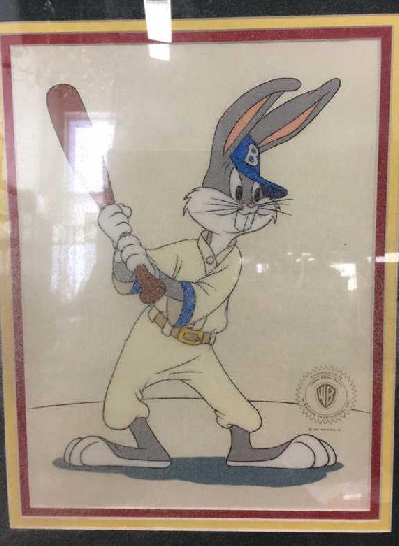 Bugs Bunny At Bat Limited Edition Sericel Framed - 2