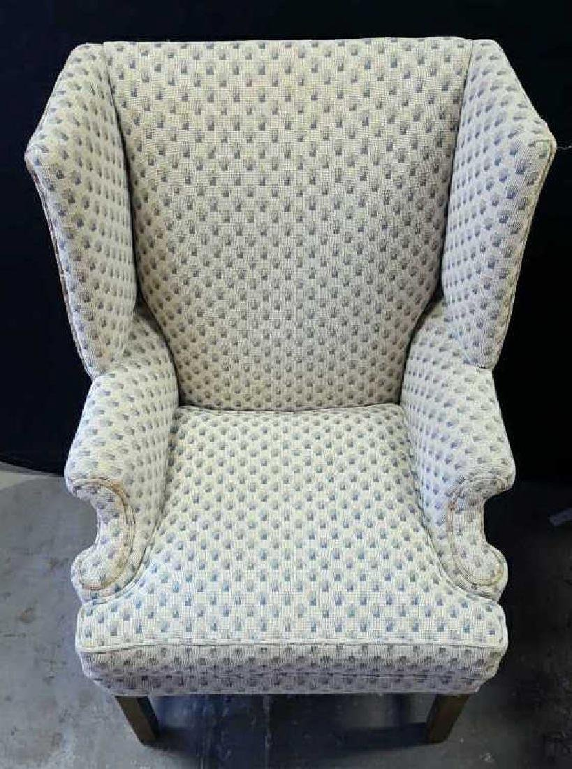 Pair of Upholstered Wing Chairs Pair of Upholstered - 2