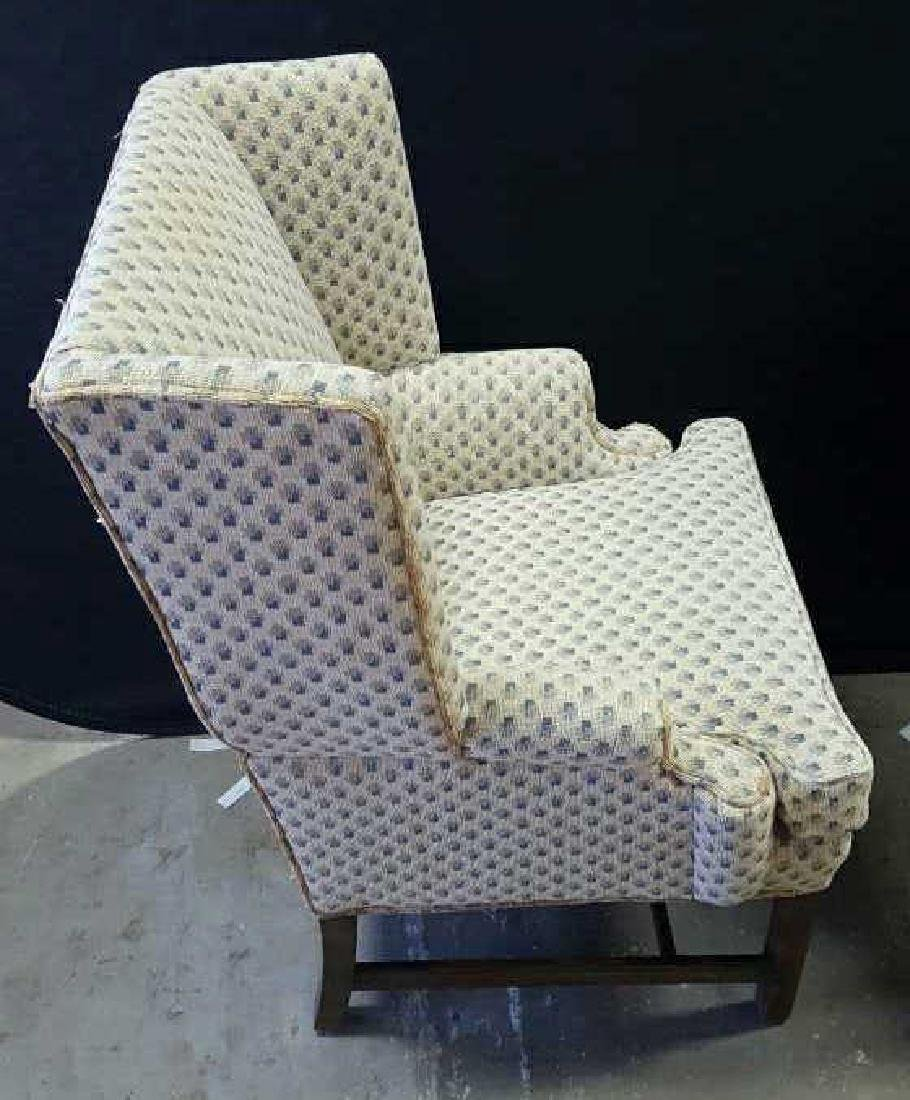 Pair of Upholstered Wing Chairs Pair of Upholstered - 5