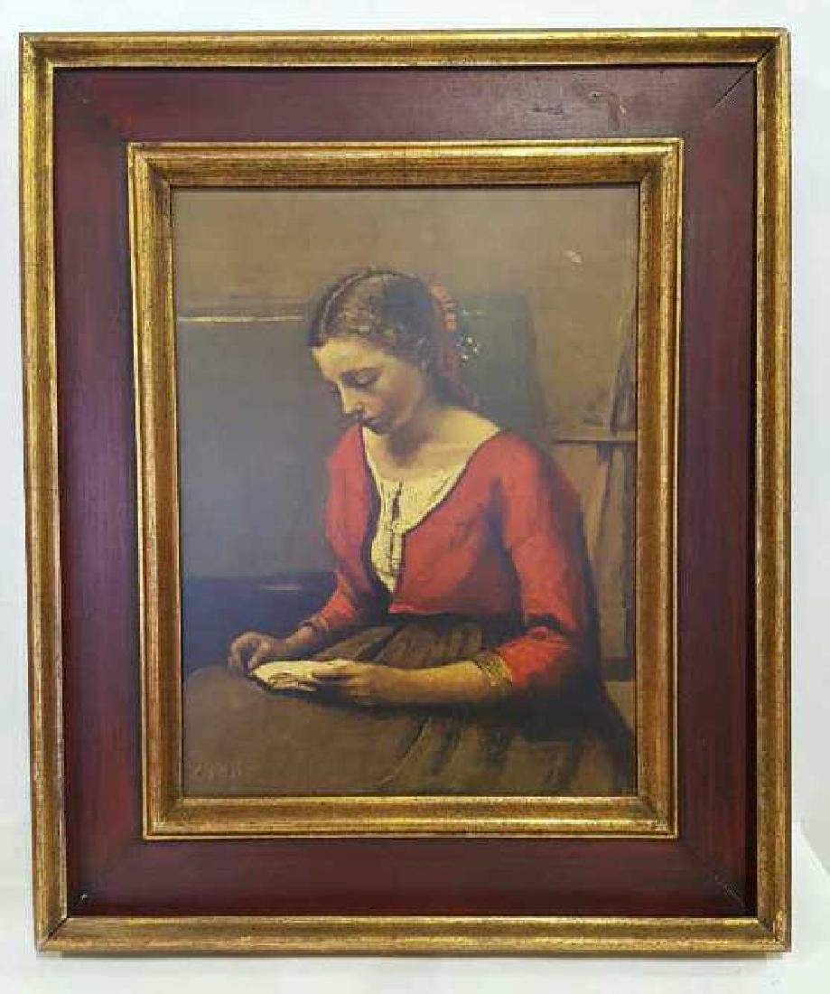 COROT Oil Painting of Women Reading COROT Oil Painting