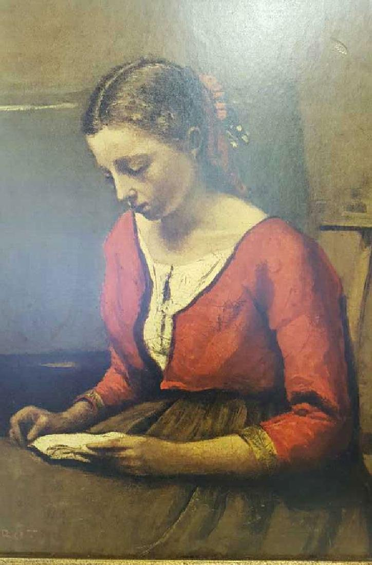 COROT Oil Painting of Women Reading COROT Oil Painting - 2