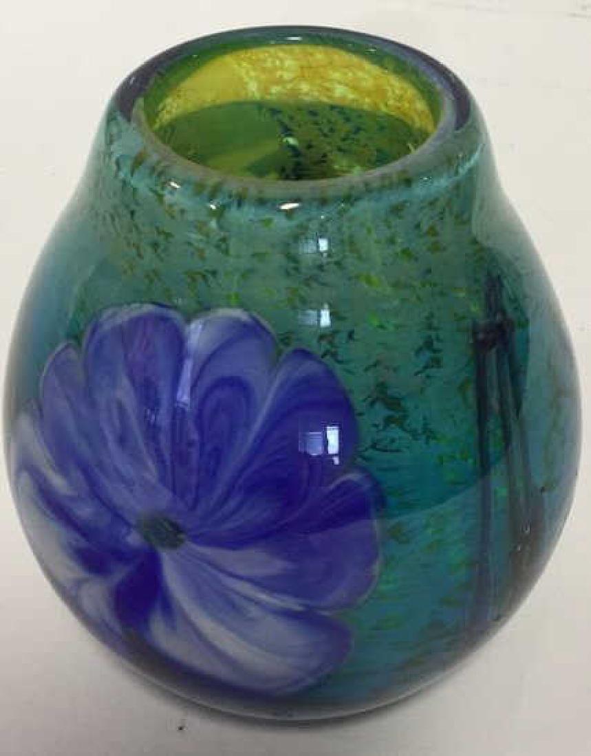 Handmade Josh Simpson Glass Vase Blown handmade glass