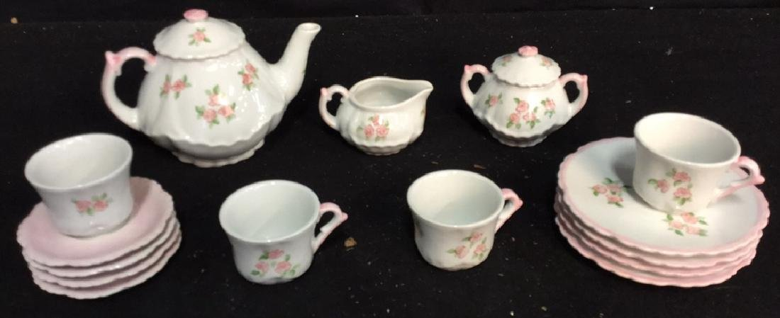 Andrea By Sadek Miniature 15 Piece Tea Set Miniature
