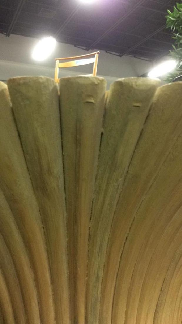 Vintage Bundle of Wheat table Wood painted and gloss - 8