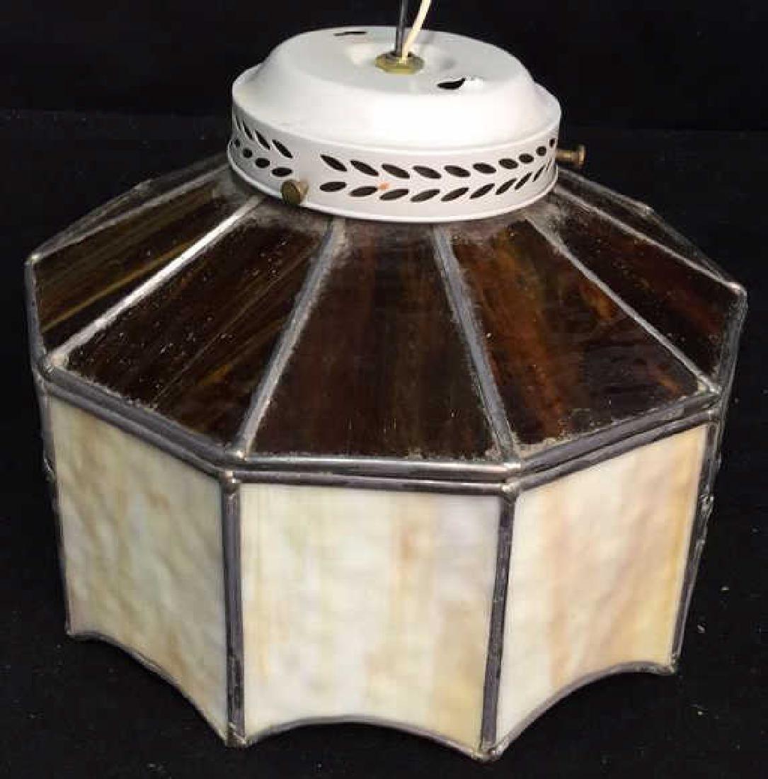 Slag Glass Ceiling Fan Cover Ceiling fan /light cover, - 2