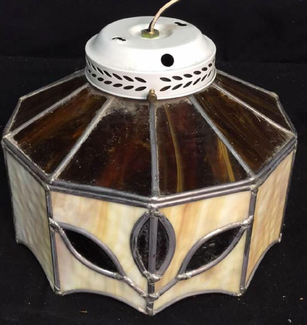 Slag Glass Ceiling Fan Cover Ceiling fan /light cover, - 3