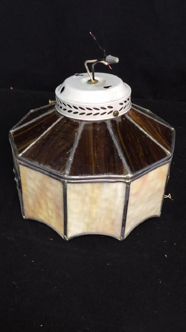 Slag Glass Ceiling Fan Cover Ceiling fan /light cover, - 4