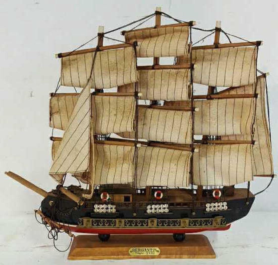 Bergantin Siglo XVIII Model Boat Bergantin Siglo XVIII