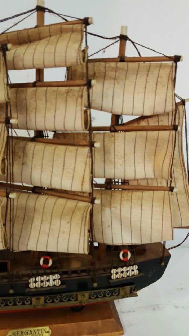 Bergantin Siglo XVIII Model Boat Bergantin Siglo XVIII - 2
