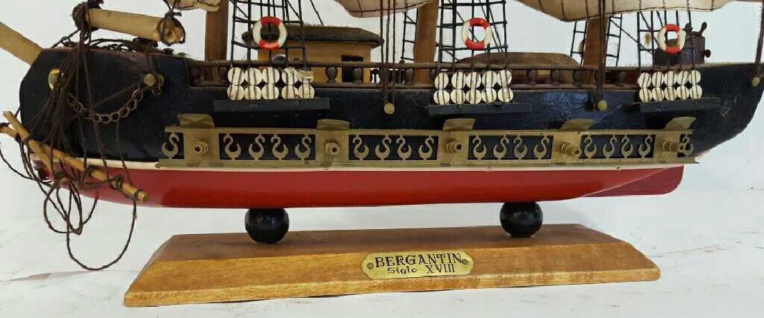 Bergantin Siglo XVIII Model Boat Bergantin Siglo XVIII - 4